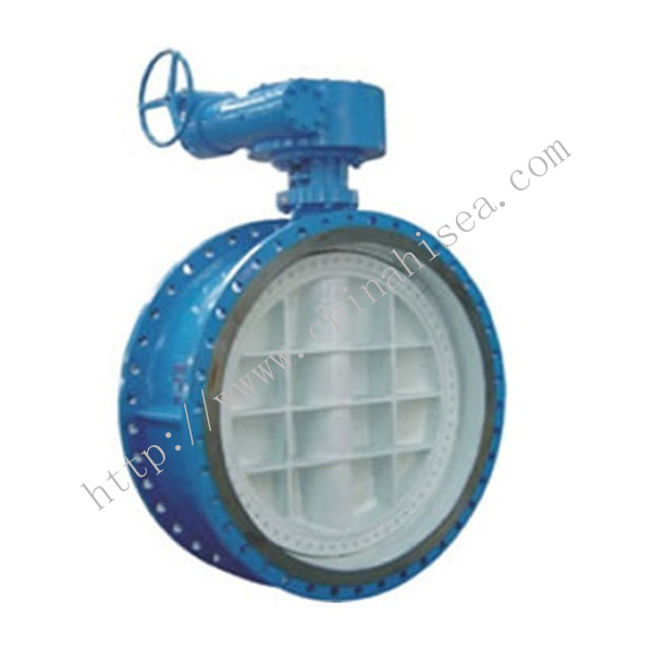 Soft Sealing Flange Type Butterfly Valve Sample
