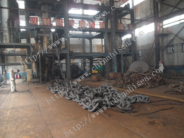 Mooring anchor chain
