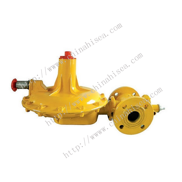 Natural Gas Pressure Regulating Valve