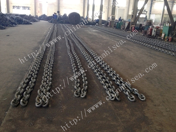 U2 Stud Link Anchor Chain