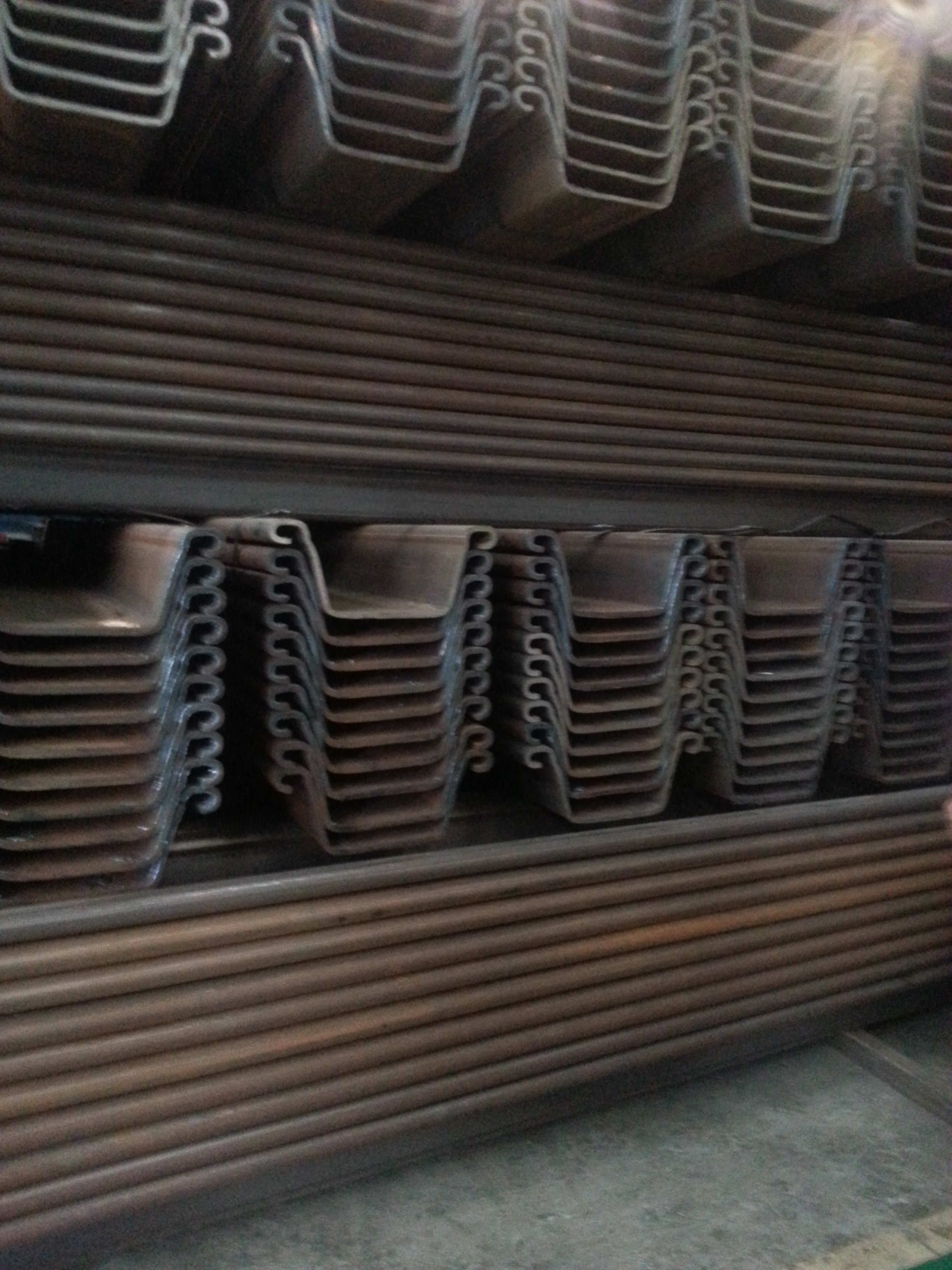 China Piling Sheet Bar