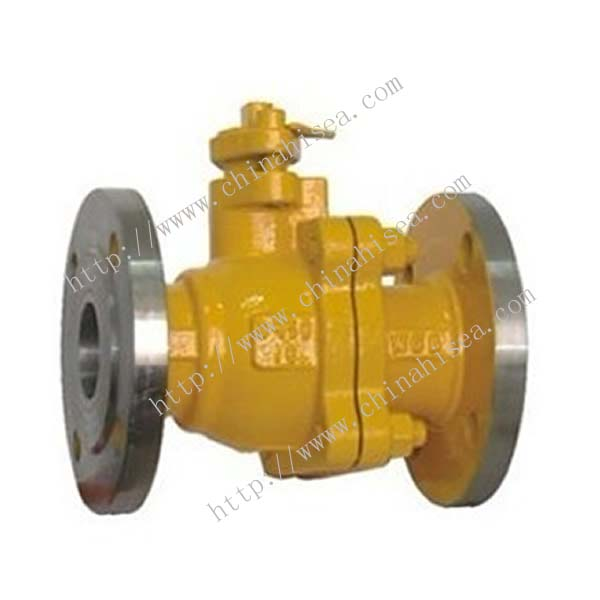 Natural Gas Ball Valve Sample