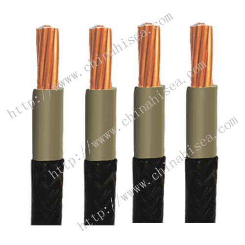 Rubber insulated power cable