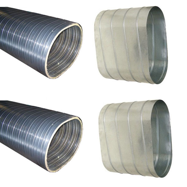 Flat Oval Spiral Ducts