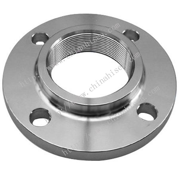 Class 150 stainless steel threaded flange