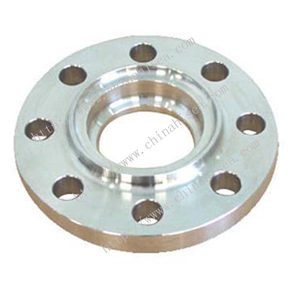 Class 600 stainless steel socket weld flange