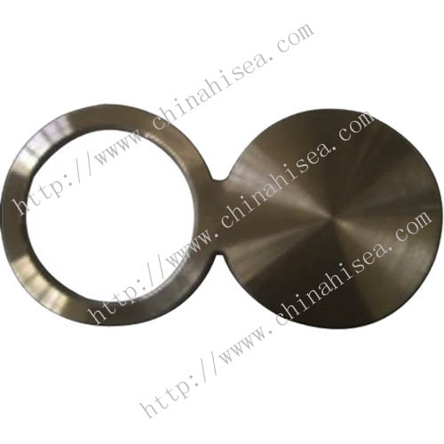 ASTM A105 carbon steel spectacle blind flange