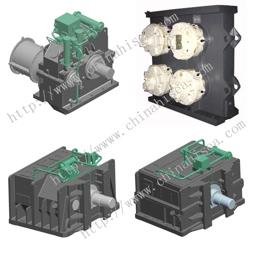 Submerged dredge pump gearbox