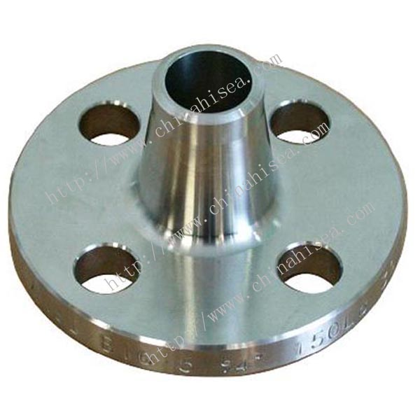 Mn carbon steel welding neck flanges
