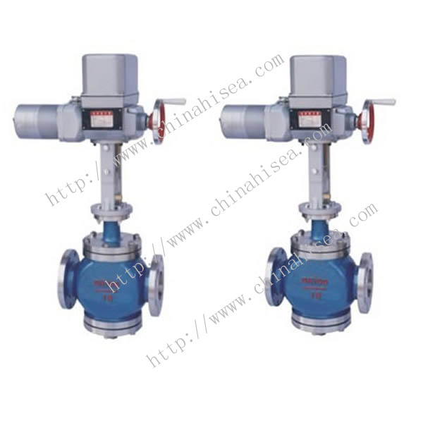 Electric Single Seat Adjusting Valve