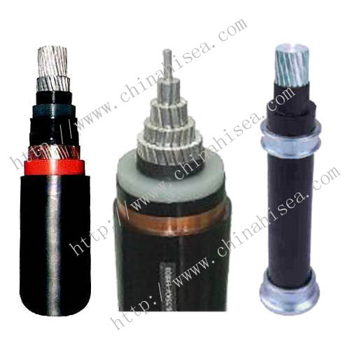 High Voltage Aluminum conductor power cable