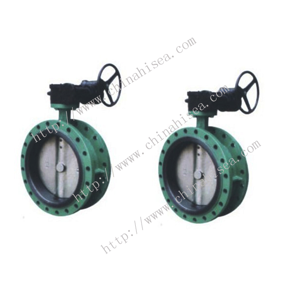 DIN Marine Flanged Butterfly Valve