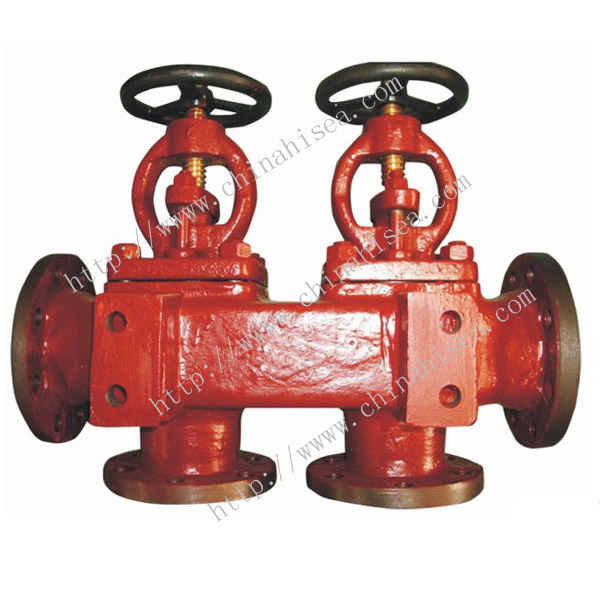 Marine Flanged Single Arrangement Suction Globe Valve Box