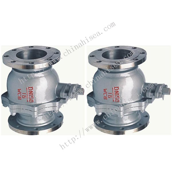 Finished Cast Steel Floating Ball Valve