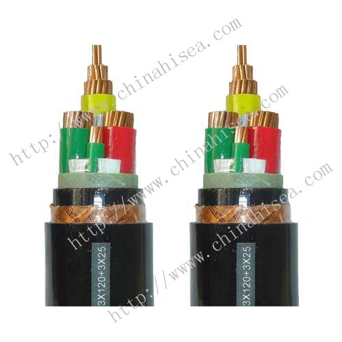 0.6/1kV Silicon rubber insulated and sheathed VFD power cable