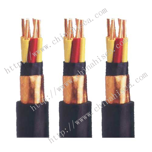 Metal shield power cable