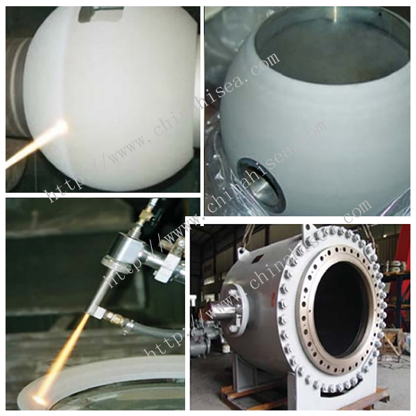 Water Power Station Ball Valve Production