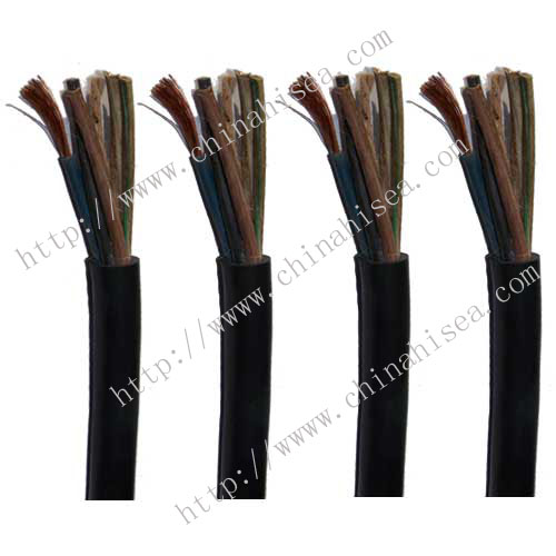 PVC insulted and sheathed Control cable