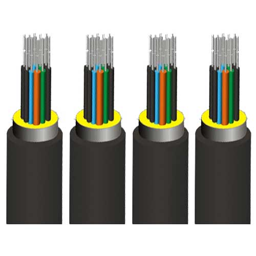 Loose tube stranded fiber optic cable