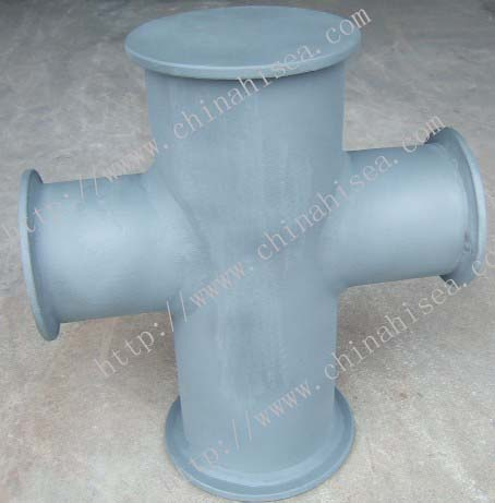 Single cruciform bollards