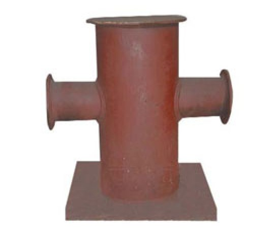 Cruciform bollards