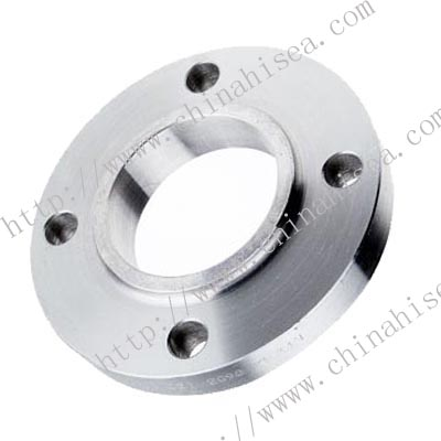 DIN Alloy steel hubbed slip-on flanges
