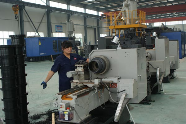 DIN-carbon-steel-hubbed-slip-on-flanges-processing.jpg
