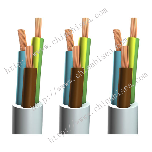 VDE H03VV-F/ H03VVH2-F Power Cable