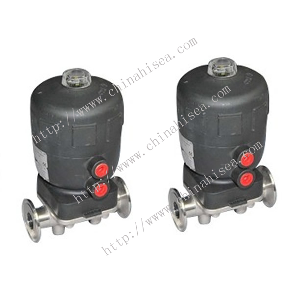 Normally Closed Pneumatic Diaphragm Valve