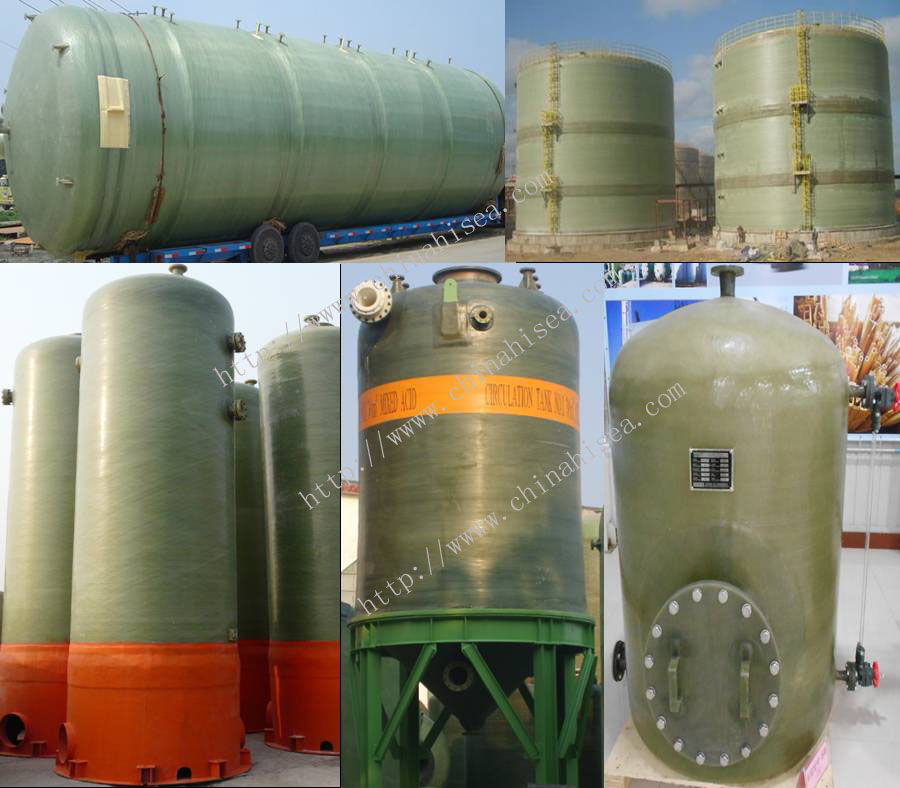 FRP Single-wall Tank
