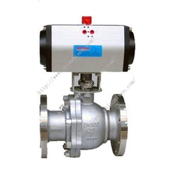 G4100 Pneumatic Teflon Lined Ball Valve