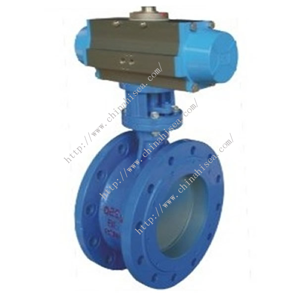 Pneumatic Rubber Sealing Butterfly Valve