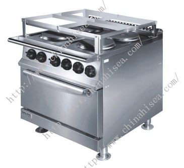 Marine 4 Hot-Plate Cooker With Cabinet