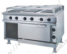 Marine 6 Hot-Plate Cooker With Oven