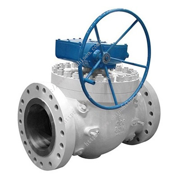 Flange Fixed Ball Valve