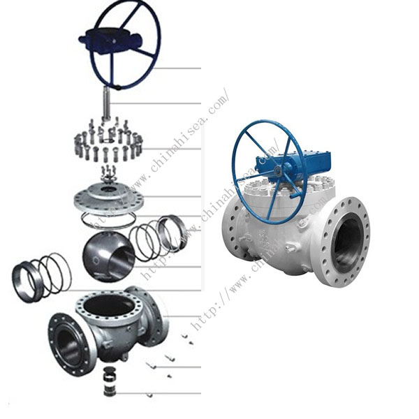 Natural Gas Ball Valve Each Part
