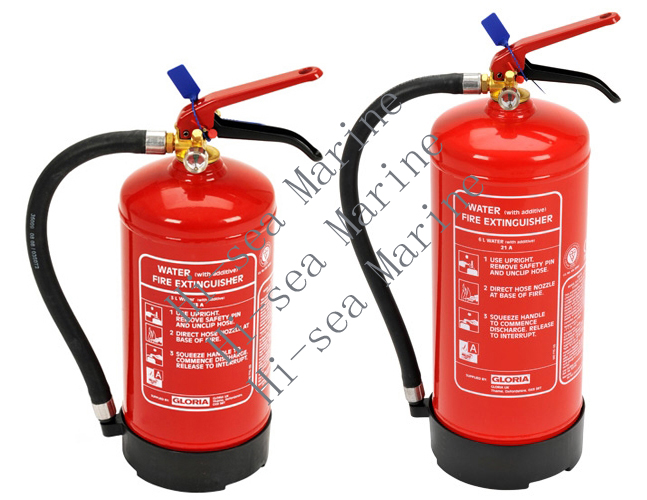 3, 6 Litre Water Additive Fire Extinguishers