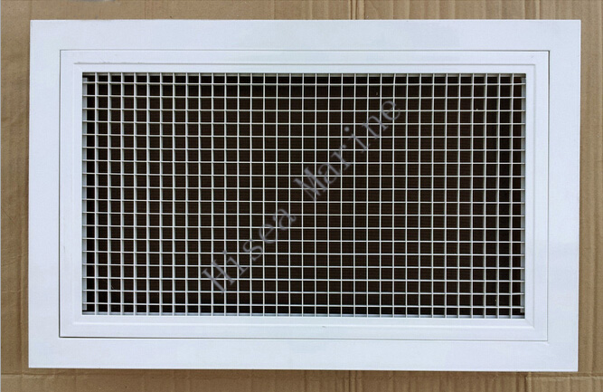 Egg crate grilles air diffuser