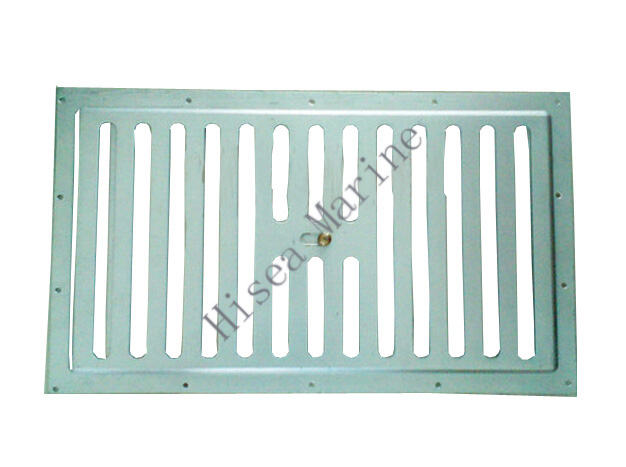 Fixable grille air diffuser