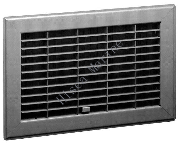 Square return aluminum air grilles