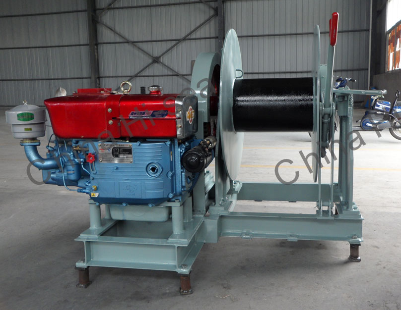 Diesel Anchor Winch