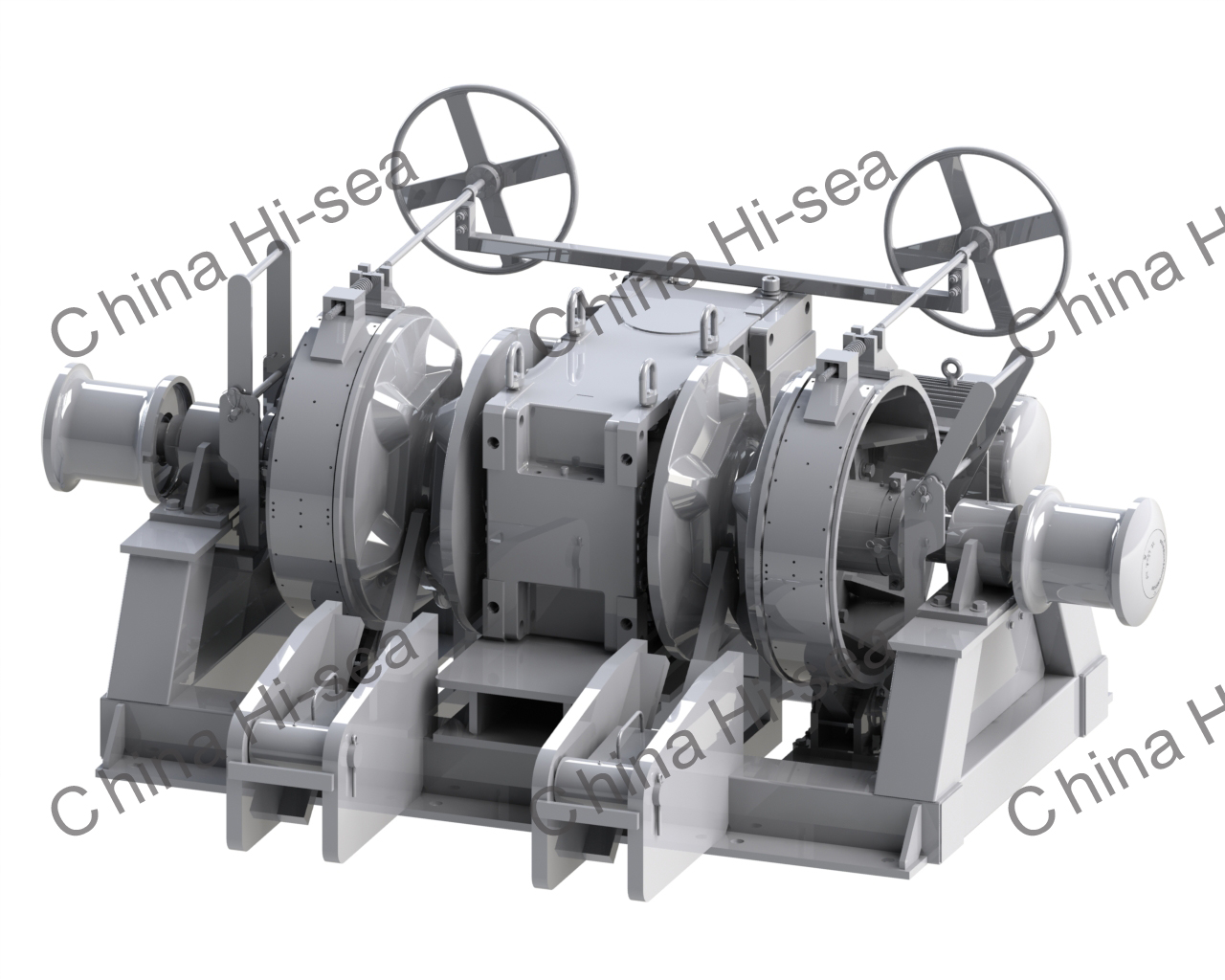 Hydraulic Double Windlass