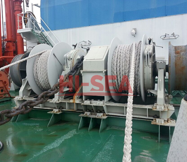 Hydraulic Horizontal Windlass