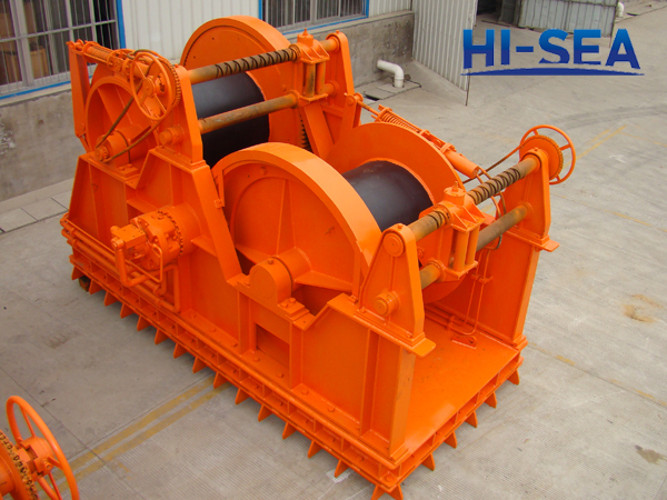 Hydraulic Waterfall Towing Winch