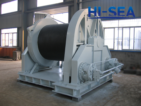 300kN Hydraulic Towing Winch